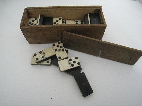 Boxed set Bone Dominoes