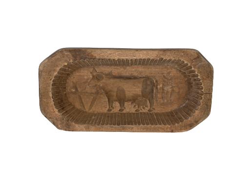 Wooden butter mold