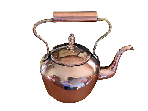 SEAMED COPPER TEAKETTLE