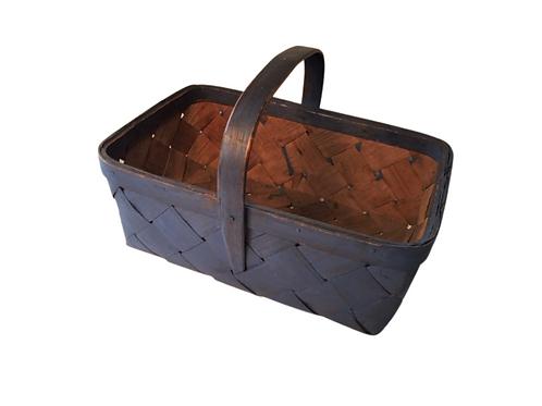 Blue Painted Basket