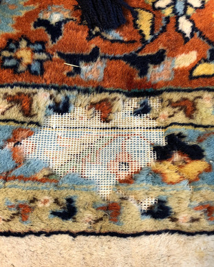 Shaia Rugs repair services