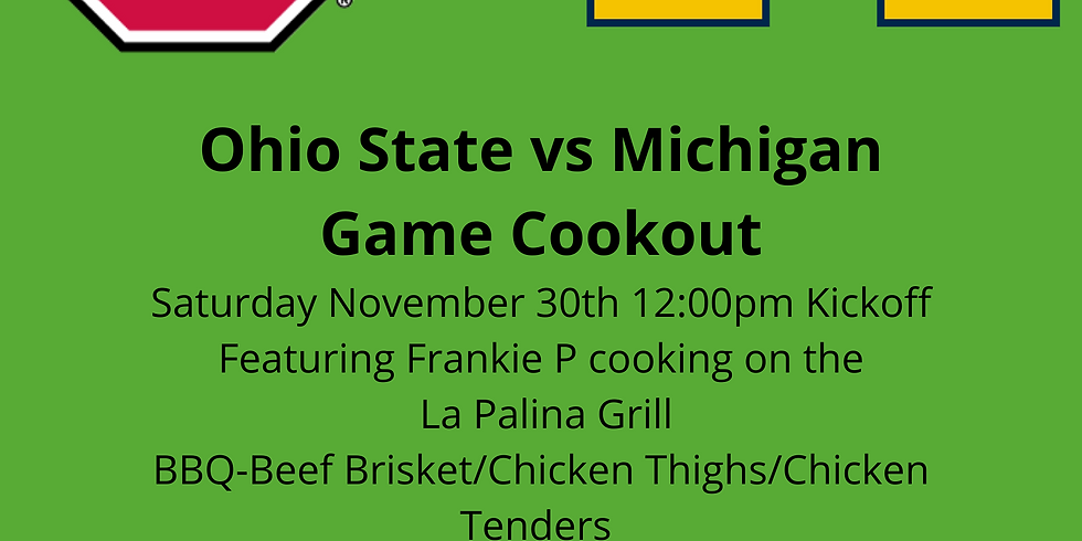 Ohio State Michigan Game BBQ