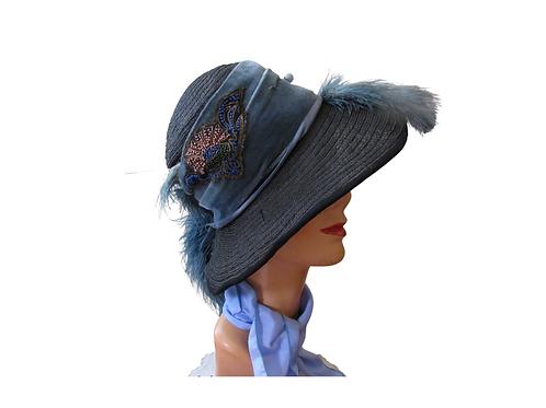 Edwardian Horsehair Hat