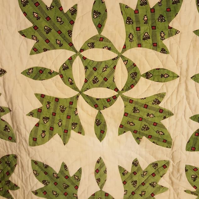 oak leaf quilt