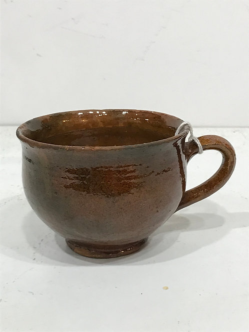 Redware cup - ca. 1840's