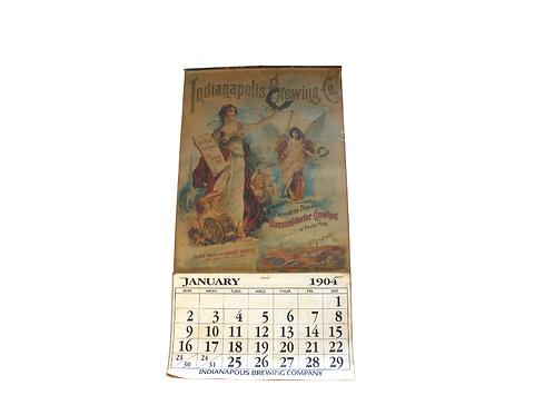 1904 Indianapolis Brewing Company Calendar