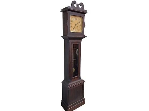 Ithaca cherry grandfather tall clock