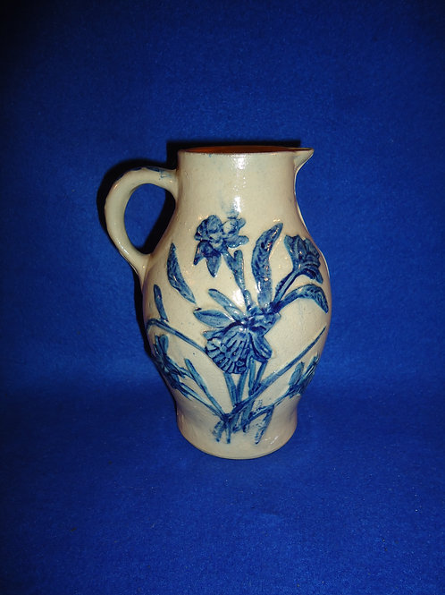 Whites of Utica Lily and Daffodil Pitcher