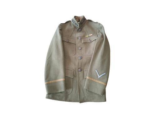 Identified WW1 Cavalry Officers Tunic