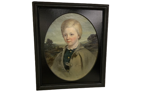 Southern portrait of a young boy
