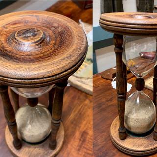English oak hourglass both #9