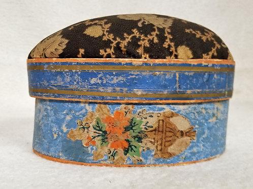 Sewing box and pin cushion