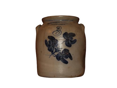 3 gallon Hubbell & Chesbro Preserve Jar, Geddes, NY
