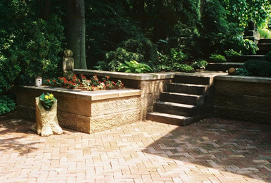 Stone and paver project