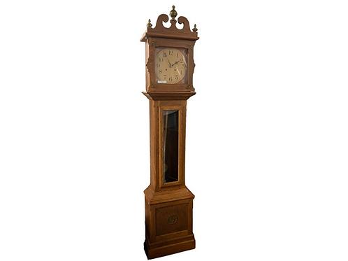 Cherry Ithaca grandfather tall clock
