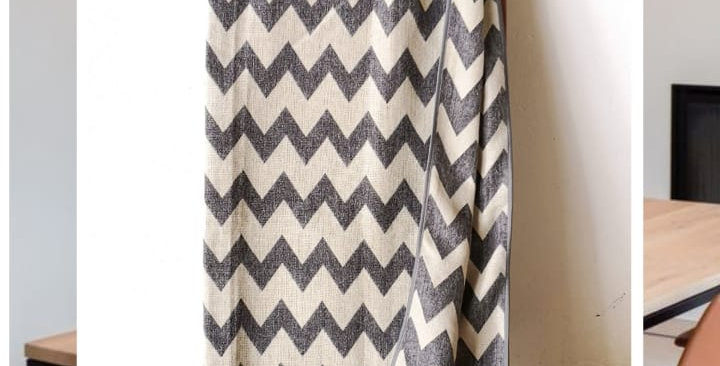 ZIGZAG -GRAY AND WHITE