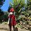 Thumbnail: Burgundy Red Cape Vest