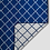 Thumbnail: Royal Blanket - Electric Blue and White