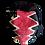 Thumbnail: XLarge red black