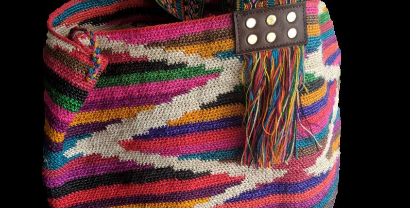 Medium multicolor Inca trail