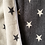 Thumbnail: Star blanket - Gray and White