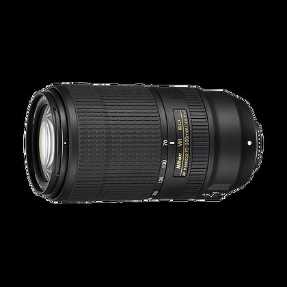 Lente AF-P Nikkor 70-300mm f/4.5-5.6E ED VR