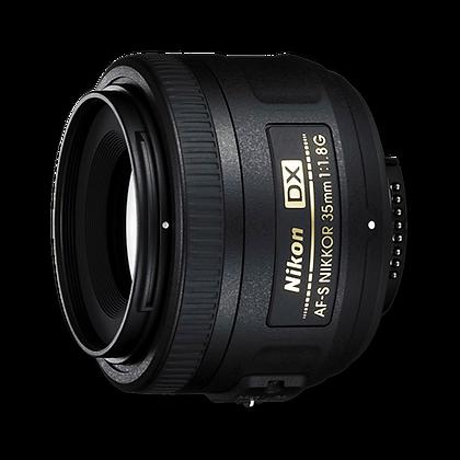 Lente AF-S DX NIKKOR 35mm f/1.8G