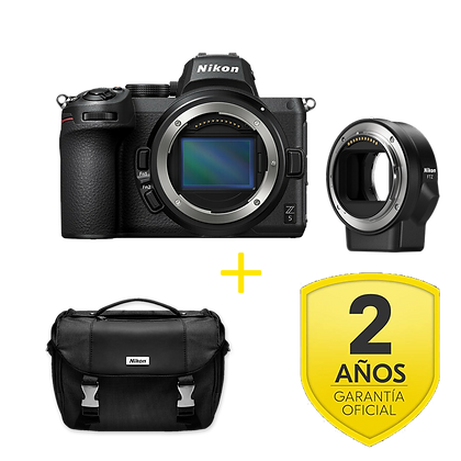 Nikon Z5 Cuerpo +Maletín