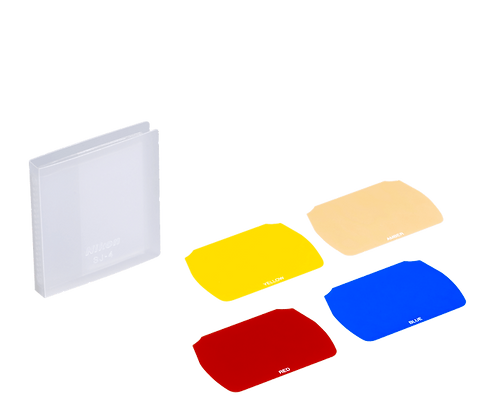Juego de filtros de color SJ-4 Para SB-700