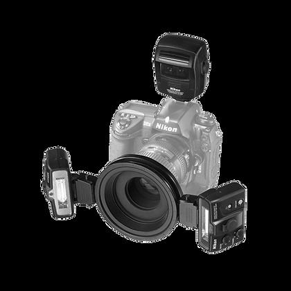 R1C1 Sistema Inalámbrico De Flash Speedlight De Primer Plano