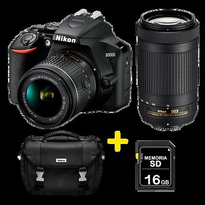 Nikon D3500 18-55mm + 70-300mm