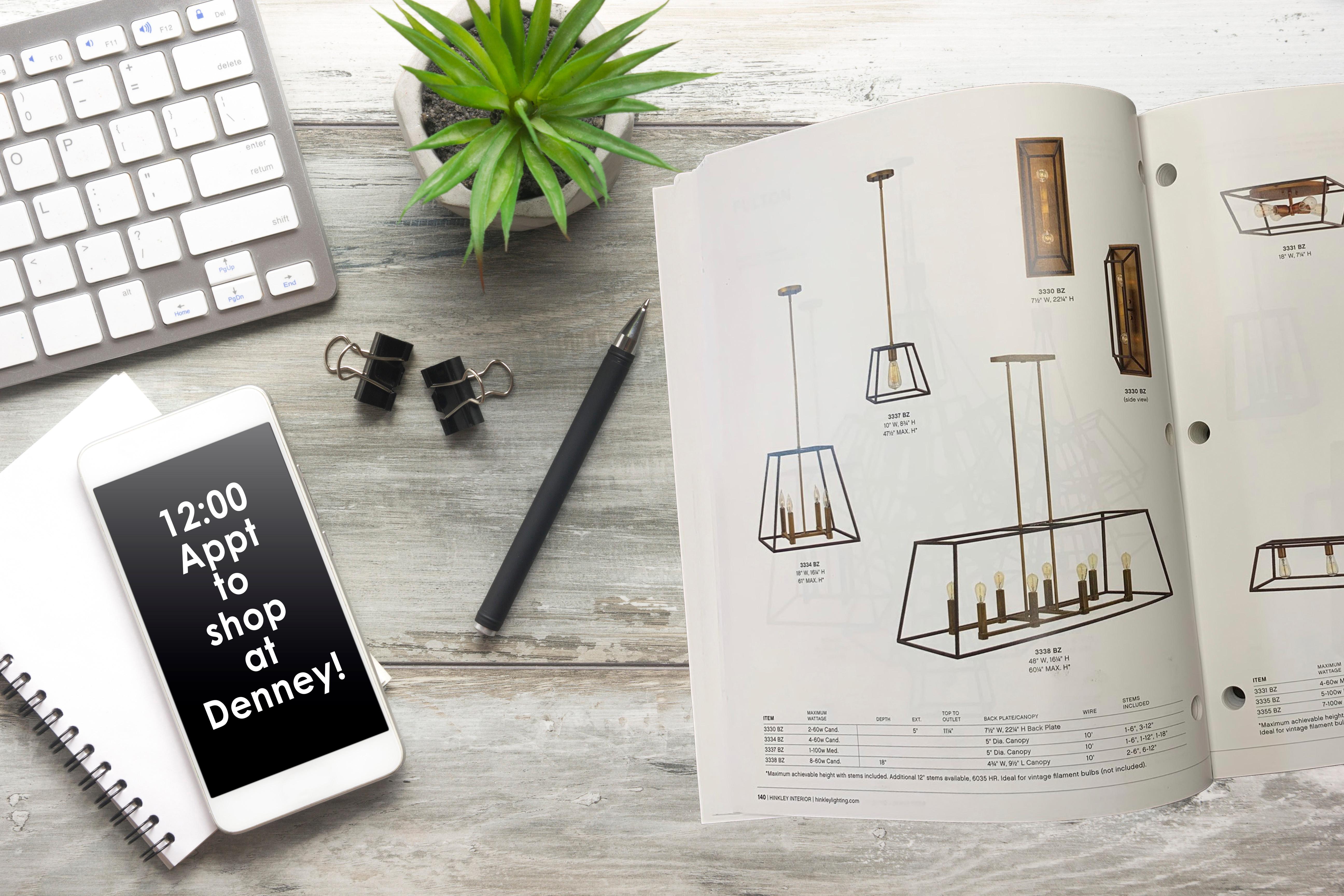 In Store Lighting Consultation