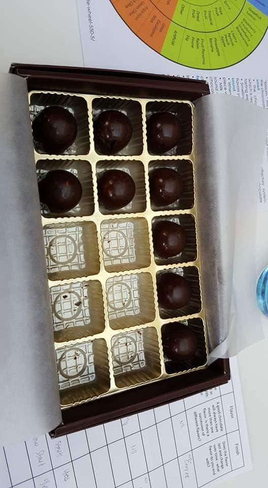 OPM Charter Investors' Choco Tasting
