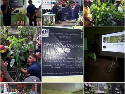 Bayanihan sa San Luis Agusan Del Sur September 21 & 22, 2017