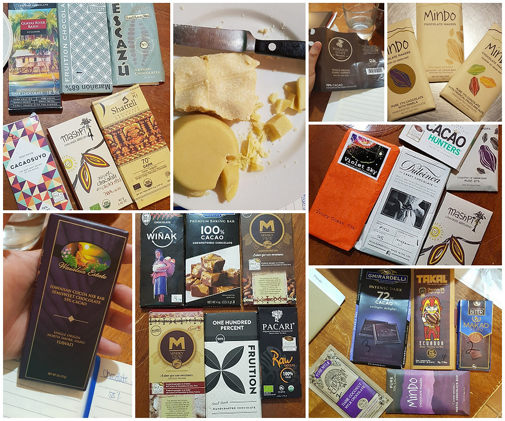 """A few days before our program in Michigan, I received a note from Barbara:  """"we are doing lots of tasting of chocolate..."""" and we did.  Lots of them."""