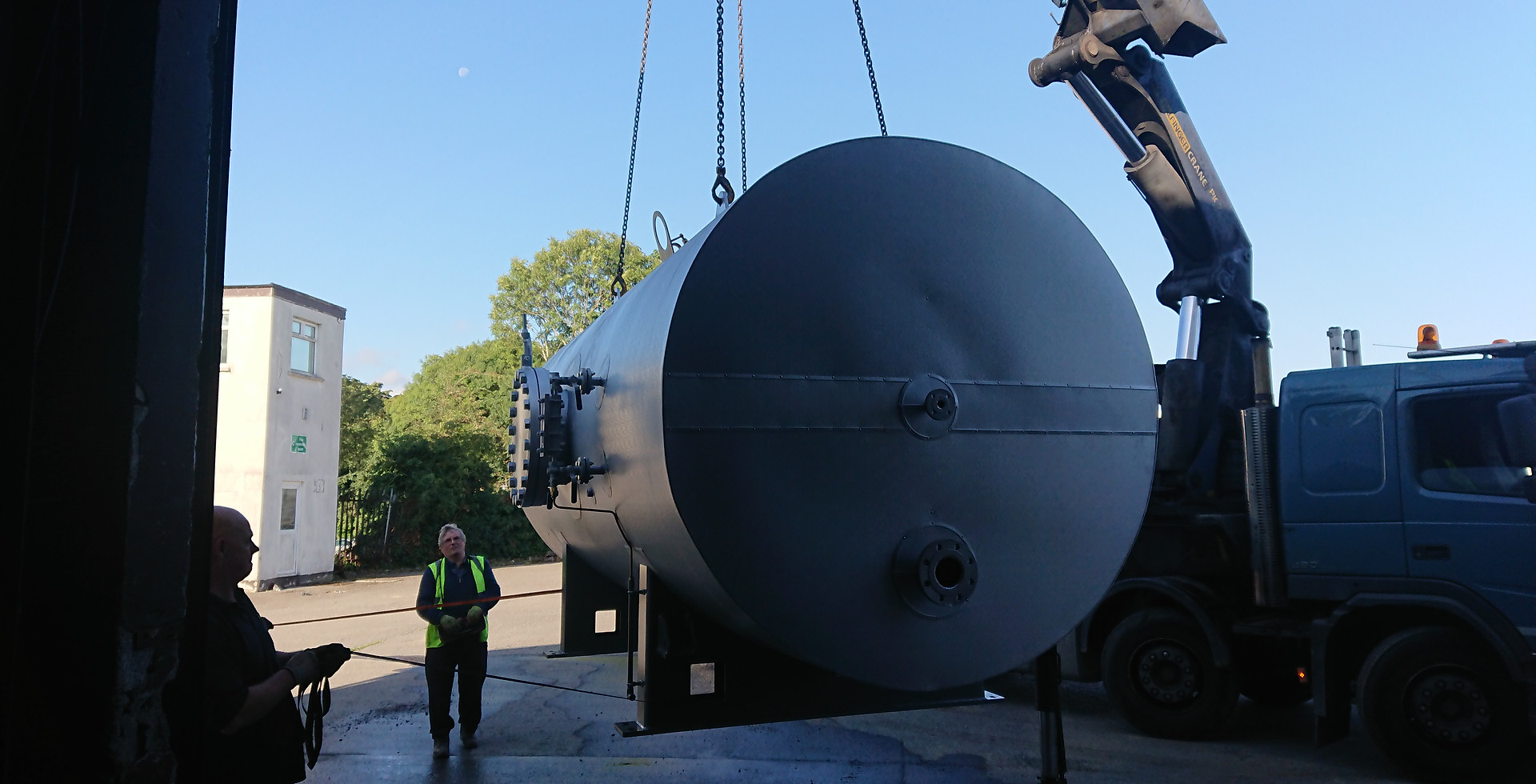 Delivery of Industrial boiler.jpg