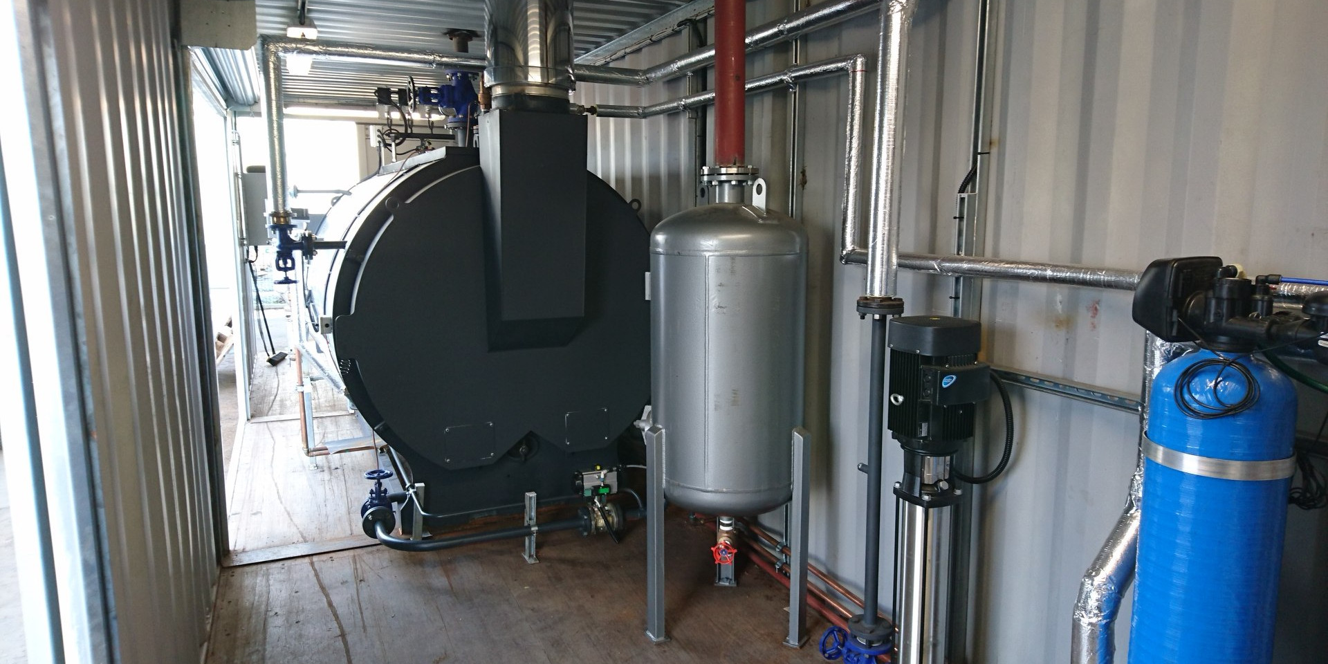 Contained Boiler