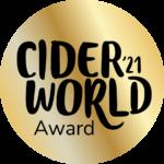 CiderWorld'21 Award