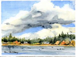Summer Storm, Albert Head 19/023