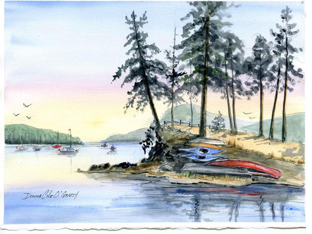 Sunrise, Pender Island 19/006