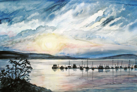 Sunset, Poets Cove 19/019