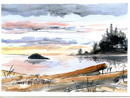 Sunset, Albert Head 19/005a