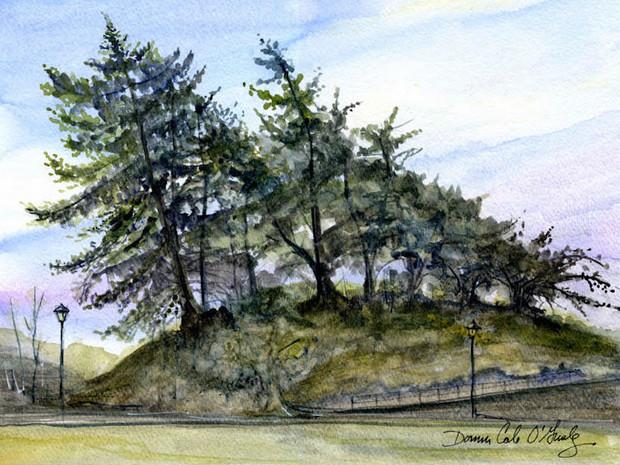 Haunting Trees, Macauley Point 19/032