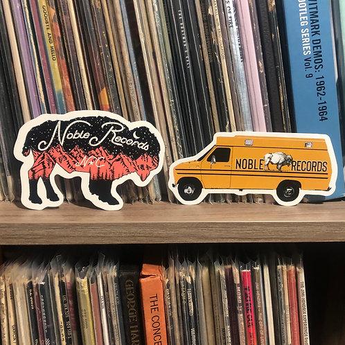 Bison + Van Sticker Pack