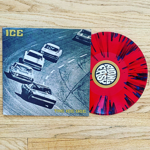 Ice: The Ice Age (Red/Blue splatter, Noble Records Exclusive edition)