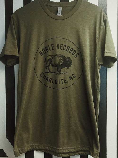 Army Green Bison Tee