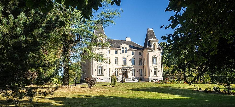 Vue sur l'Hotel Château de la Marlière à Fourmies