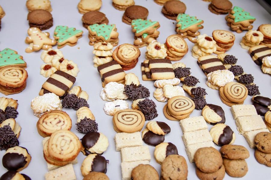 Assortiment koekjes