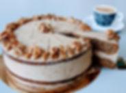Koffie-Walnotentaart