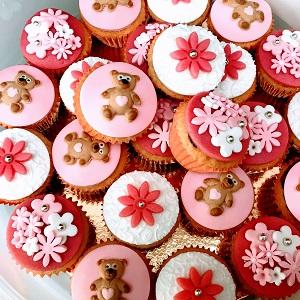 Babyborrel cupcakes